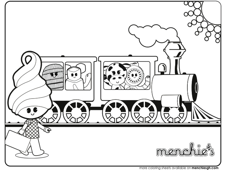 Frozen Yogurt Coloring Pages Coloring Pages